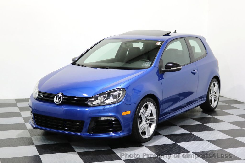 2013 Volkswagen Golf R CERTIFIED GOLF R AWD SUNROOF NAVIGATION 2 DOOR 6 SPEED - 17179693 - 39