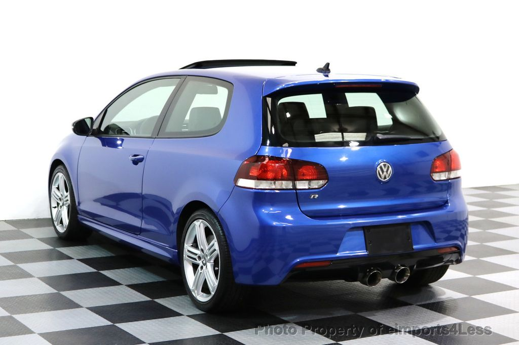 2013 Volkswagen Golf R CERTIFIED GOLF R AWD SUNROOF NAVIGATION 2 DOOR 6 SPEED - 17179693 - 41