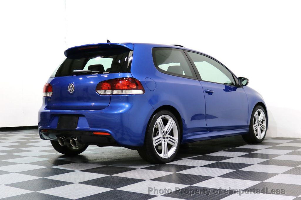2013 Volkswagen Golf R CERTIFIED GOLF R AWD SUNROOF NAVIGATION 2 DOOR 6 SPEED - 17179693 - 42