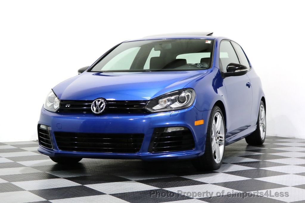 2013 Volkswagen Golf R CERTIFIED GOLF R AWD SUNROOF NAVIGATION 2 DOOR 6 SPEED - 17179693 - 43