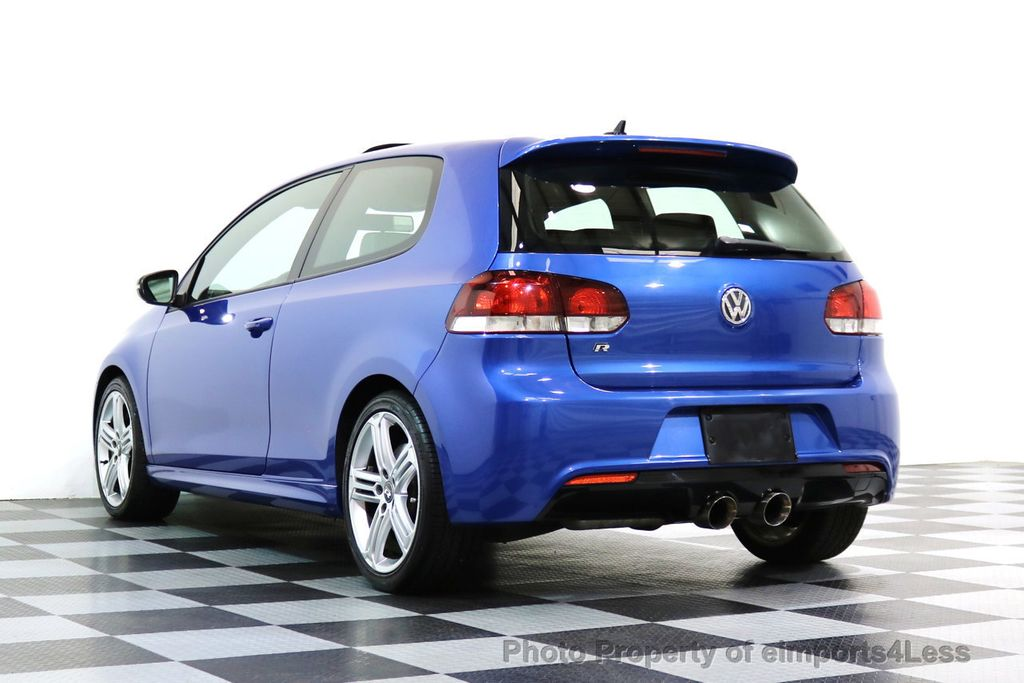 2013 Volkswagen Golf R CERTIFIED GOLF R AWD SUNROOF NAVIGATION 2 DOOR 6 SPEED - 17179693 - 45