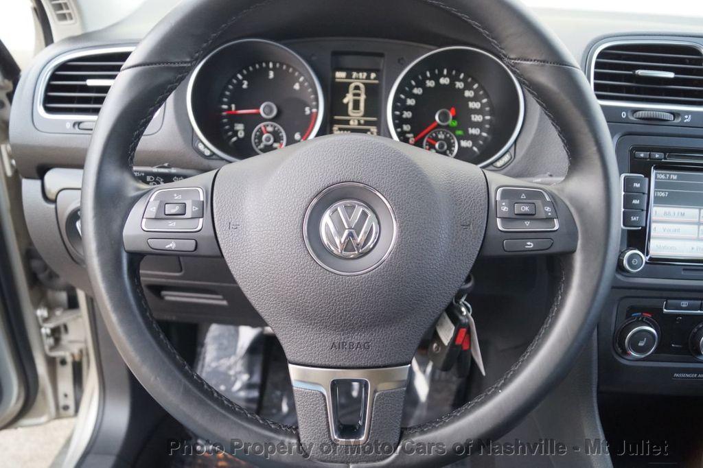 2013 Volkswagen Jetta SportWagen 2.0L TDI w/Sunroof  - 18203144 - 29