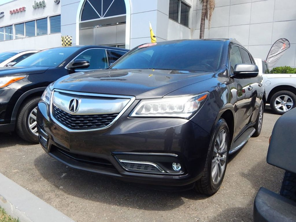 2014 Acura MDX 3.5L Technology Package - 17636121 - 0