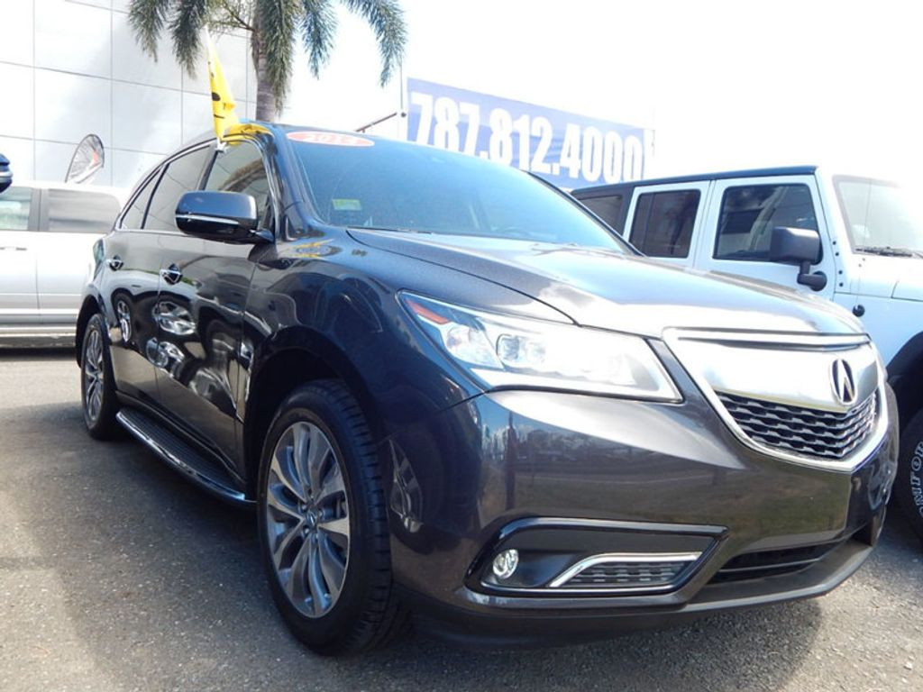 2014 Acura MDX 3.5L Technology Package - 17636121 - 2