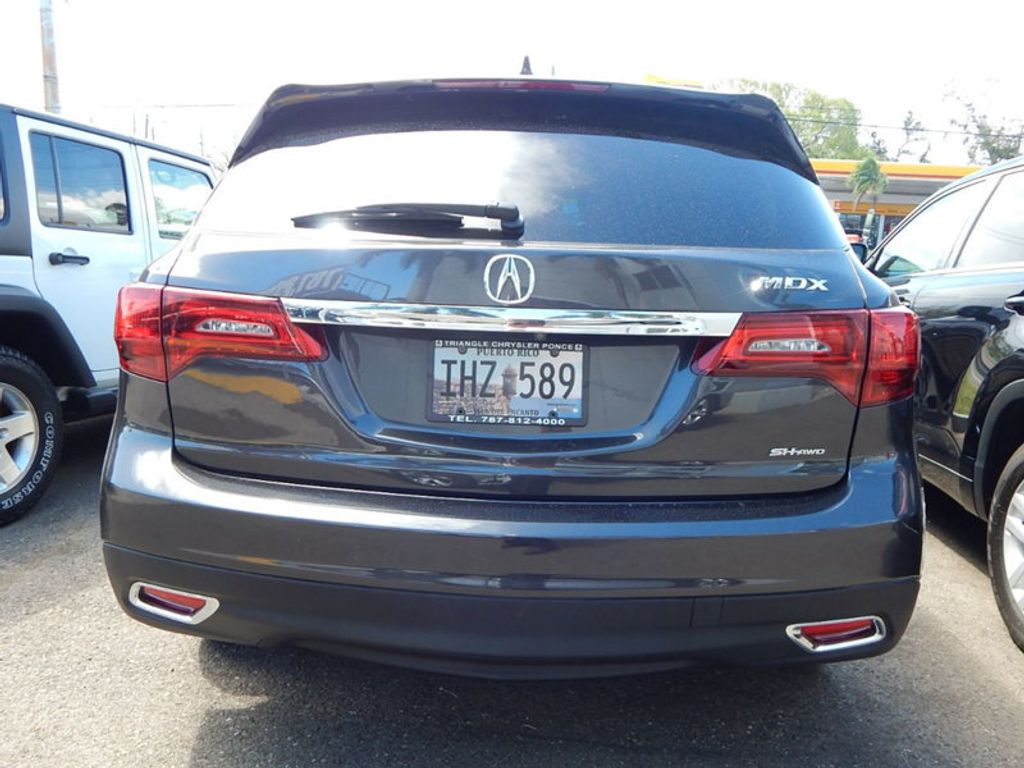 2014 Acura MDX 3.5L Technology Package - 17636121 - 3