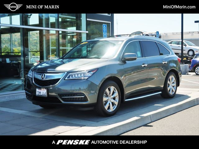 2014 Acura MDX AWD 4dr Advance/Entertainment Pkg - 20758503 - 0