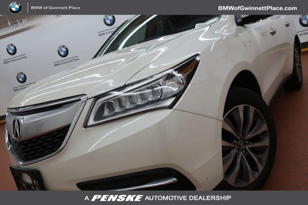 2014 Acura MDX AWD 4dr Tech/Entertainment Pkg - 17322783 - 0