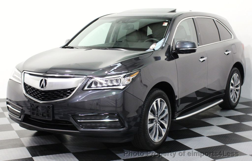 Used Acura MDX CERTIFIED MDX AWD TECH RD ROW CAMERA NAVIGATION - Acura mdx navigation