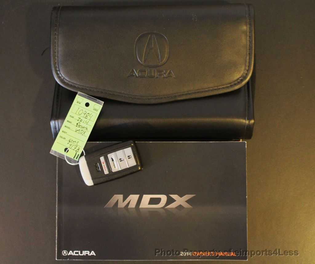 2014 Used Acura MDX CERTIFIED MDX AWD TECH 3RD ROW CAMERA