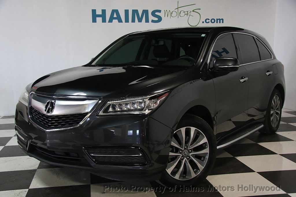 Used Acura MDX FWD Dr Tech Pkg At Haims Motors Serving Fort - Acura mdx used