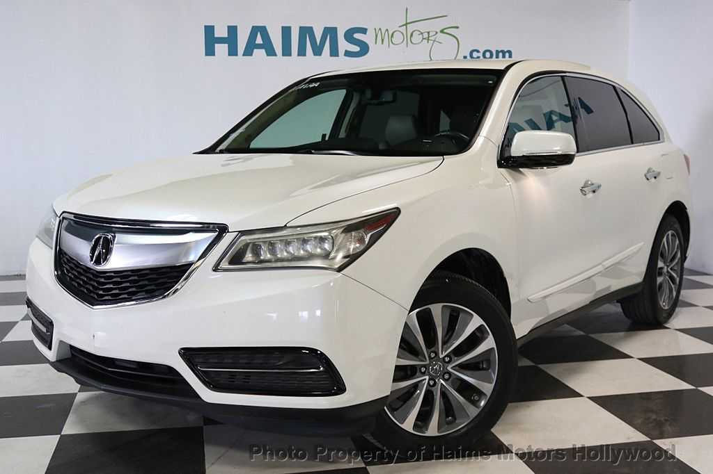 fwd detail at acura of nashville motorcars mdx tech used pkg