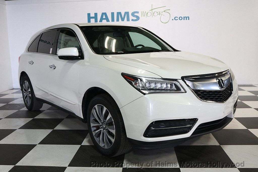 Used Acura MDX FWD Dr Tech Pkg At Haims Motors Serving Fort - Mdx acura used