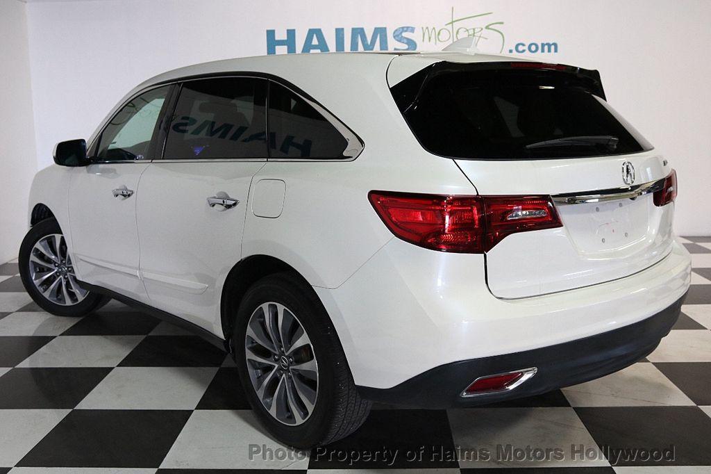 2014 Acura MDX FWD 4dr Tech Pkg - 17595332 - 4
