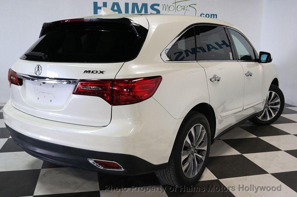 2014 Acura MDX FWD 4dr Tech Pkg - 17595332 - 6