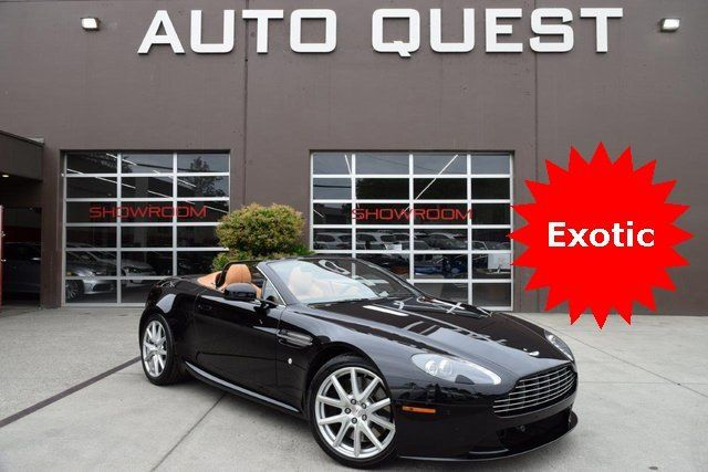 Used Aston Martin >> 2014 Used Aston Martin V8 Vantage 2dr Convertible At Auto Quest Inc Serving Seattle Wa Iid 19067614