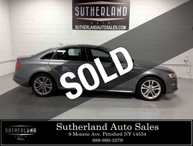 Audi 2.0 T >> 2014 Used Audi A4 4dr Sedan Automatic Quattro 2 0t Premium Plus At Sutherland Service Center Serving Pittsford Ny Iid 18912542