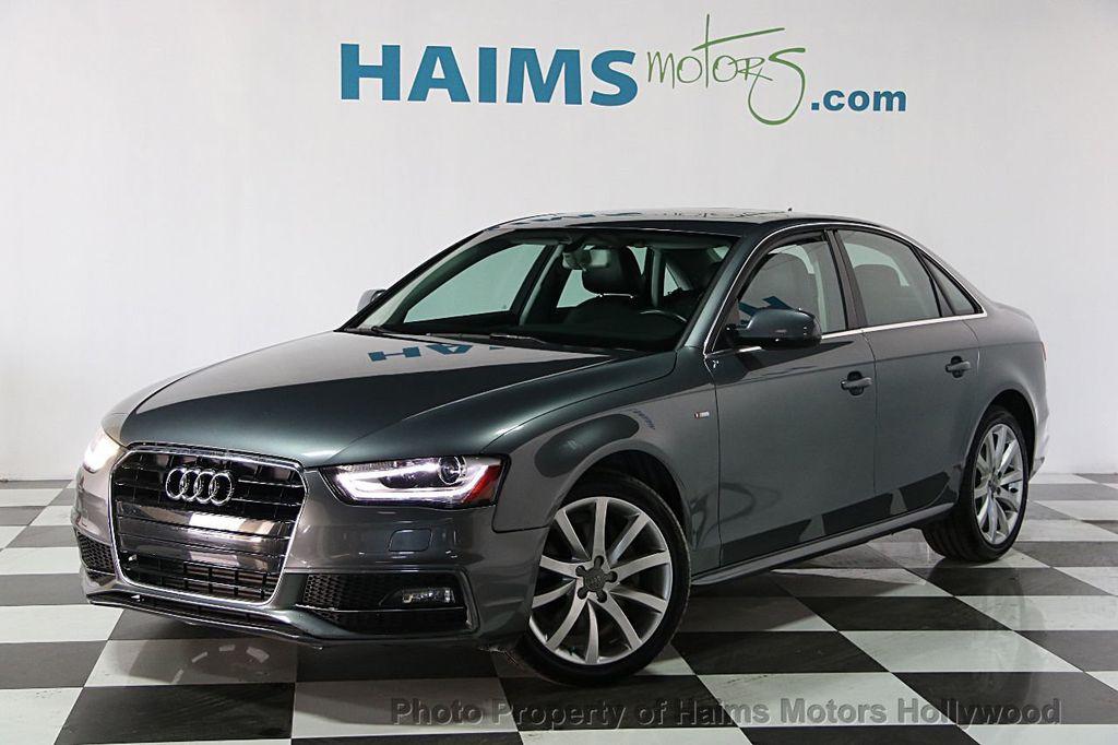 2014 Used Audi A4 4dr Sedan Cvt Fronttrak 2 0t Premium At Haims Motors Serving Fort Lauderdale