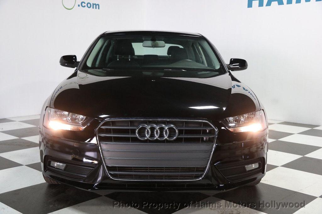 2014 Used Audi A4 4dr Sedan CVT FrontTrak 2.0T Premium at Haims ...