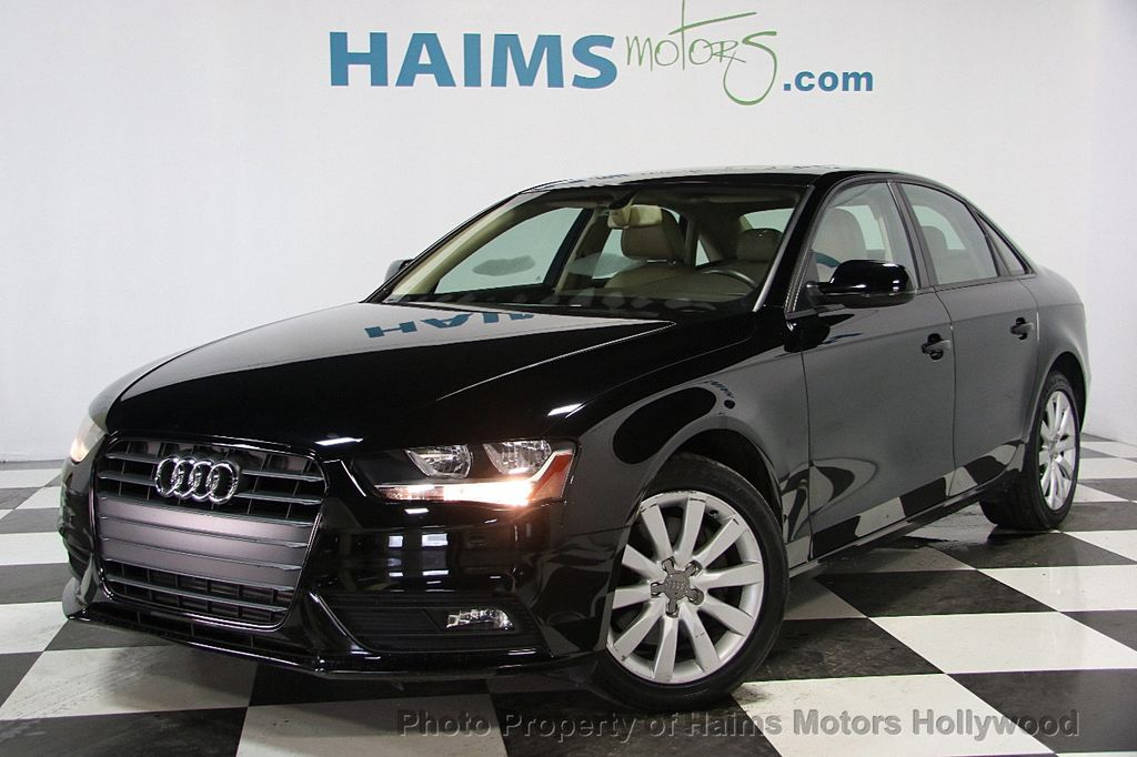2014 Used Audi A4 4dr Sedan Cvt Fronttrak 2 0t Premium At