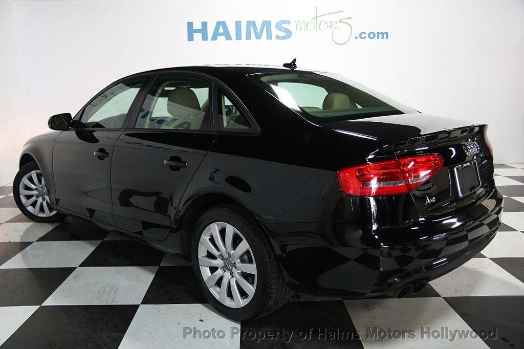 Used Audi A Dr Sedan CVT FrontTrak T Premium At Haims - Audi car 2014
