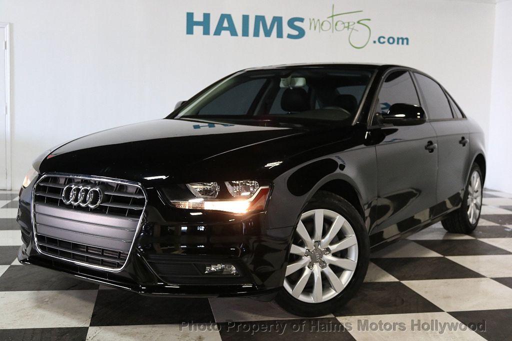 2014 Audi A4 4dr Sedan CVT FrontTrak 2.0T Premium - 17680777 - 1