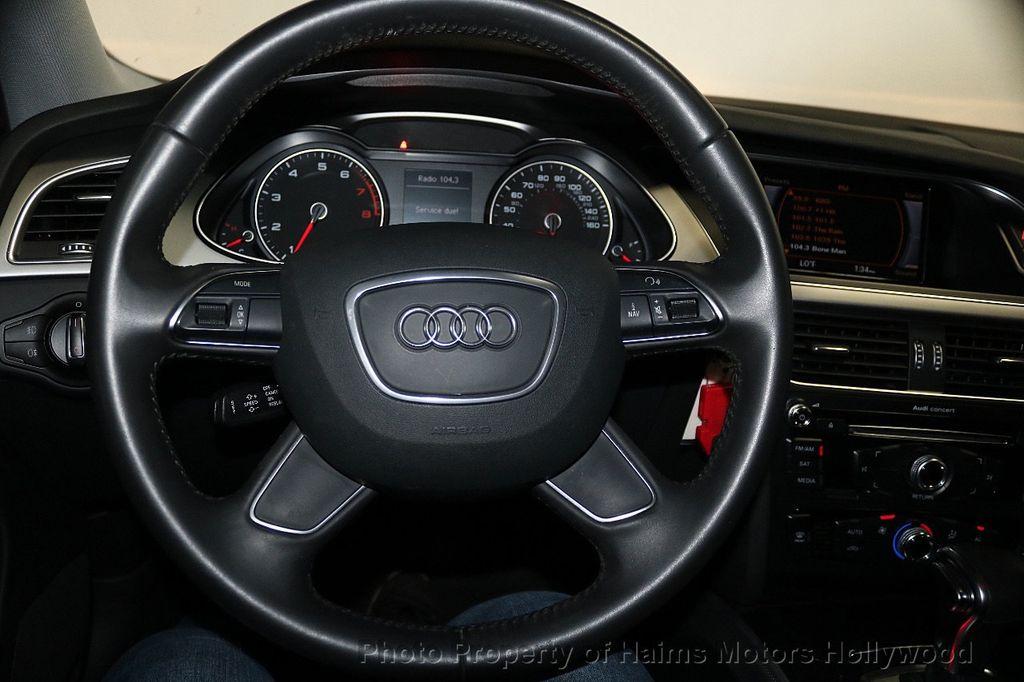 2014 Audi A4 4dr Sedan CVT FrontTrak 2.0T Premium - 17680777 - 23