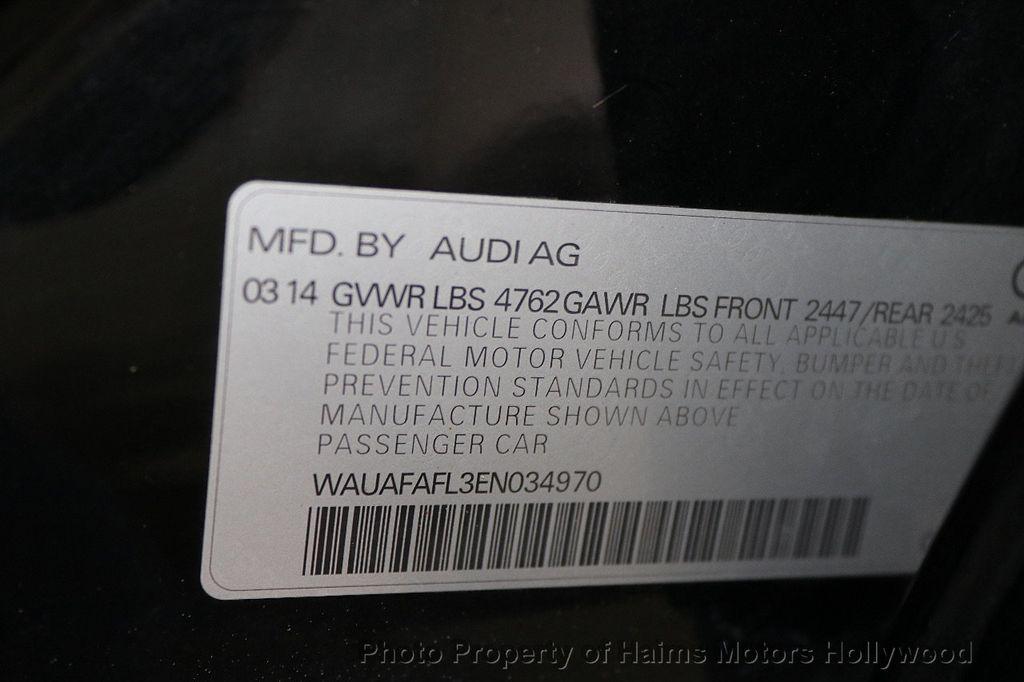 2014 Audi A4 4dr Sedan CVT FrontTrak 2.0T Premium - 17680777 - 28