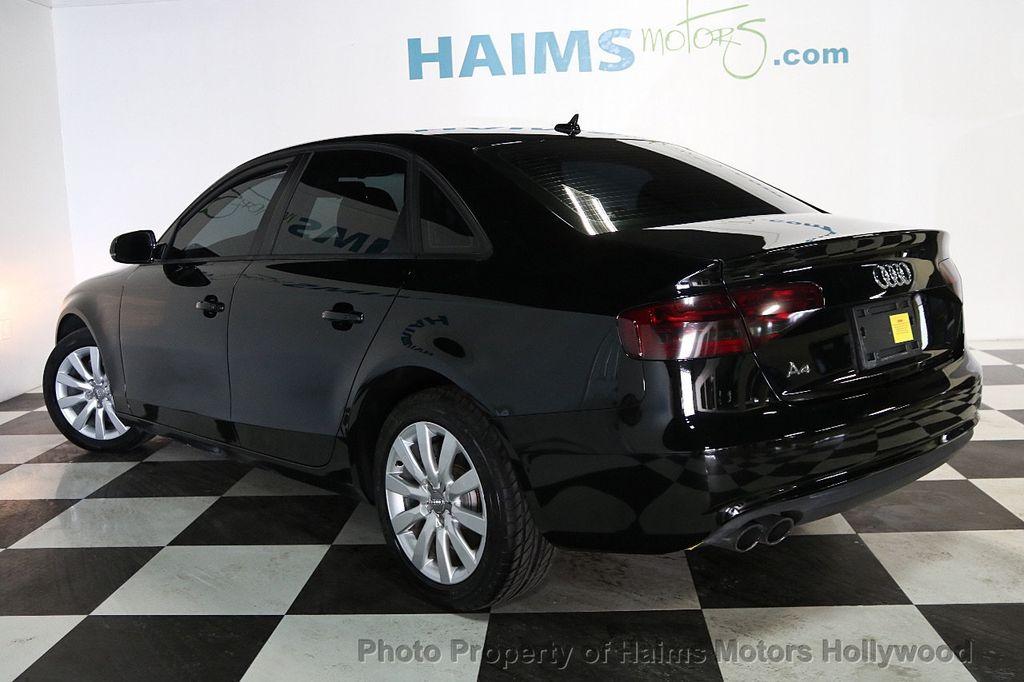 2014 Audi A4 4dr Sedan CVT FrontTrak 2.0T Premium - 17680777 - 4