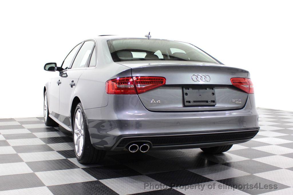 2014 Audi A4 CERTIFIED A4 2.0t Quattro S-Line Premium Plus AWD CAM NAVI - 18130106 - 16