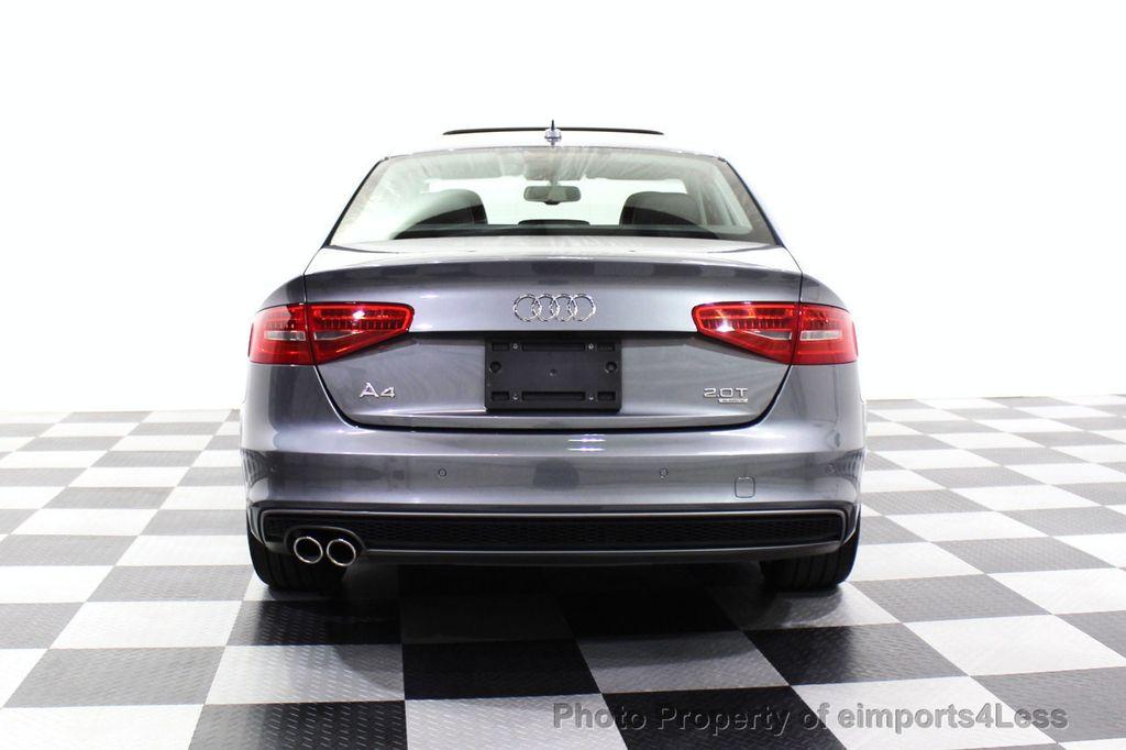 2014 Audi A4 CERTIFIED A4 2.0t Quattro S-Line Premium Plus AWD CAM NAVI - 18130106 - 17