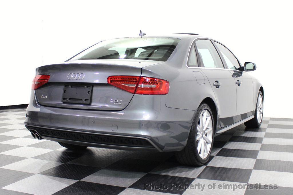 2014 Audi A4 CERTIFIED A4 2.0t Quattro S-Line Premium Plus AWD CAM NAVI - 18130106 - 18