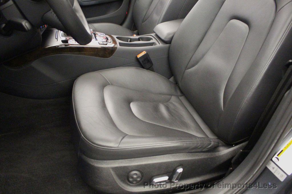 2014 Audi A4 CERTIFIED A4 2.0t Quattro S-Line Premium Plus AWD CAM NAVI - 18130106 - 23