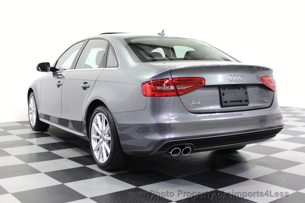 2014 Audi A4 CERTIFIED A4 2.0t Quattro S-Line Premium Plus AWD CAM NAVI - 18130106 - 2