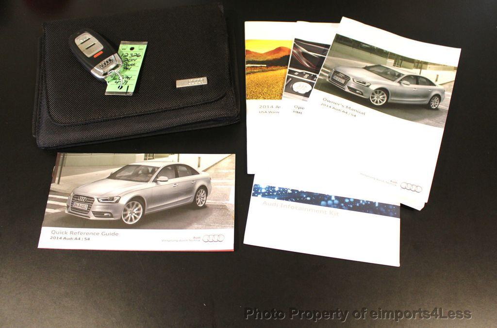 2014 Audi A4 CERTIFIED A4 2.0t Quattro S-Line Premium Plus AWD CAM NAVI - 18130106 - 40