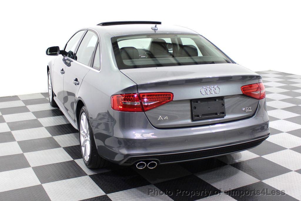 2014 Audi A4 CERTIFIED A4 2.0t Quattro S-Line Premium Plus AWD CAM NAVI - 18130106 - 46