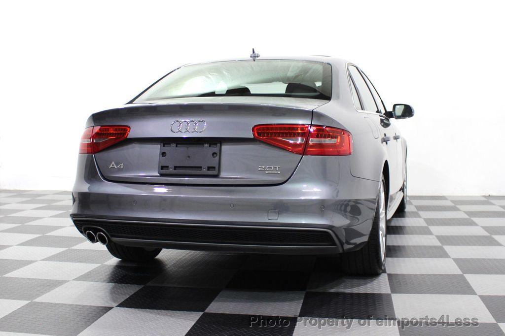 2014 Audi A4 CERTIFIED A4 2.0t Quattro S-Line Premium Plus AWD CAM NAVI - 18130106 - 47