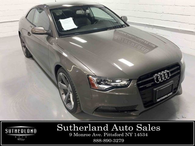 2014 Used Audi A5 2dr Coupe Automatic quattro 2 0T Premium Plus at  Sutherland Service Center Serving Pittsford, NY, IID 18427034