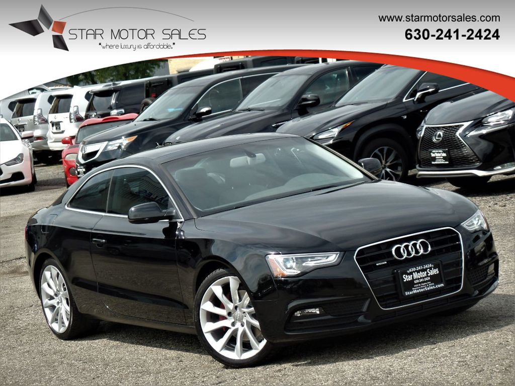 2014 Used Audi A5 2dr Coupe Manual Quattro 2 0t Premium Plus At Star Motor Sales Serving Downers Grove Il Iid 20279672