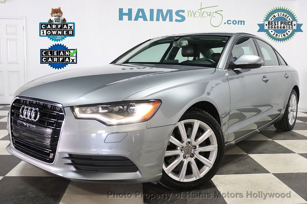 2014 Audi A6 4dr Sedan FrontTrak 2.0T Premium Plus - 17962537 - 0