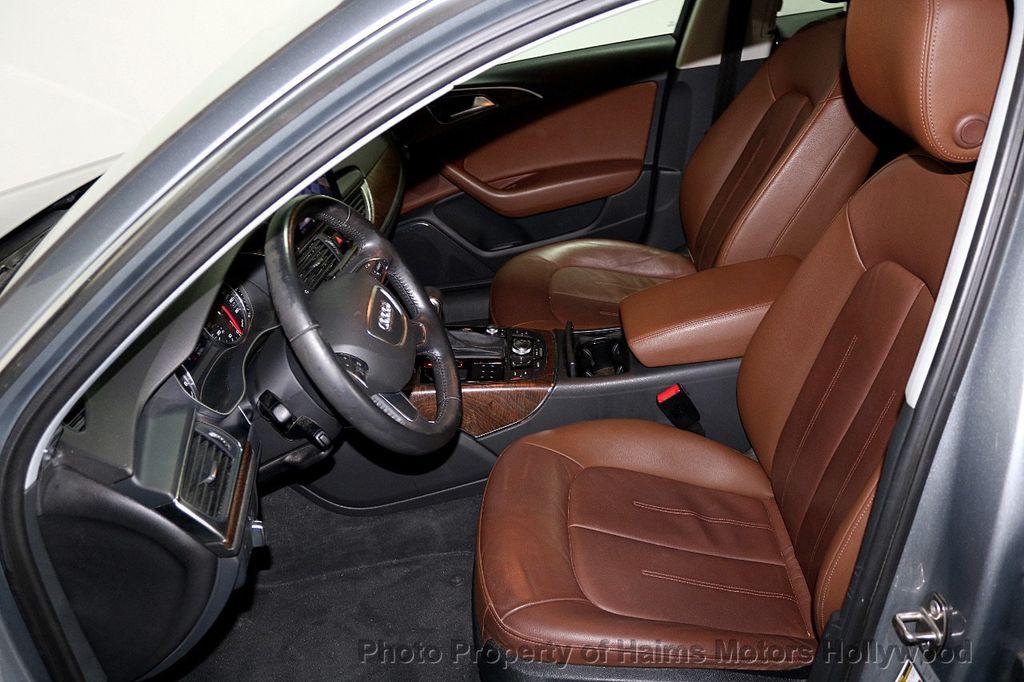 2014 Audi A6 4dr Sedan FrontTrak 2.0T Premium Plus - 17962537 - 16