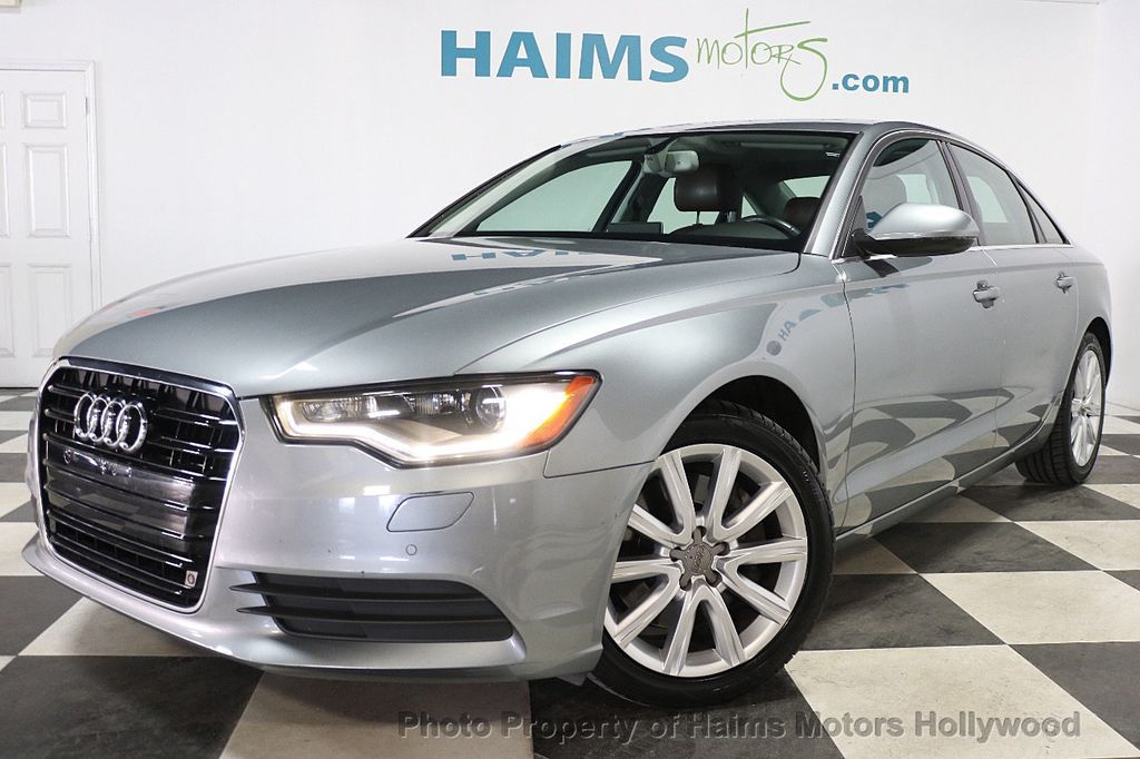 2014 Audi A6 4dr Sedan FrontTrak 2.0T Premium Plus - 17962537 - 1