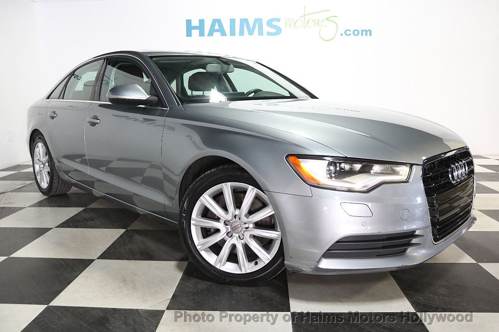 2014 Audi A6 4dr Sedan FrontTrak 2.0T Premium Plus - 17962537 - 3