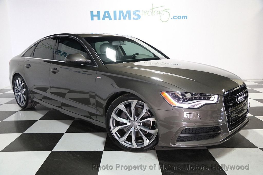 2014 used audi a6 4dr sedan quattro 3 0l tdi prestige at haims motors serving fort lauderdale. Black Bedroom Furniture Sets. Home Design Ideas