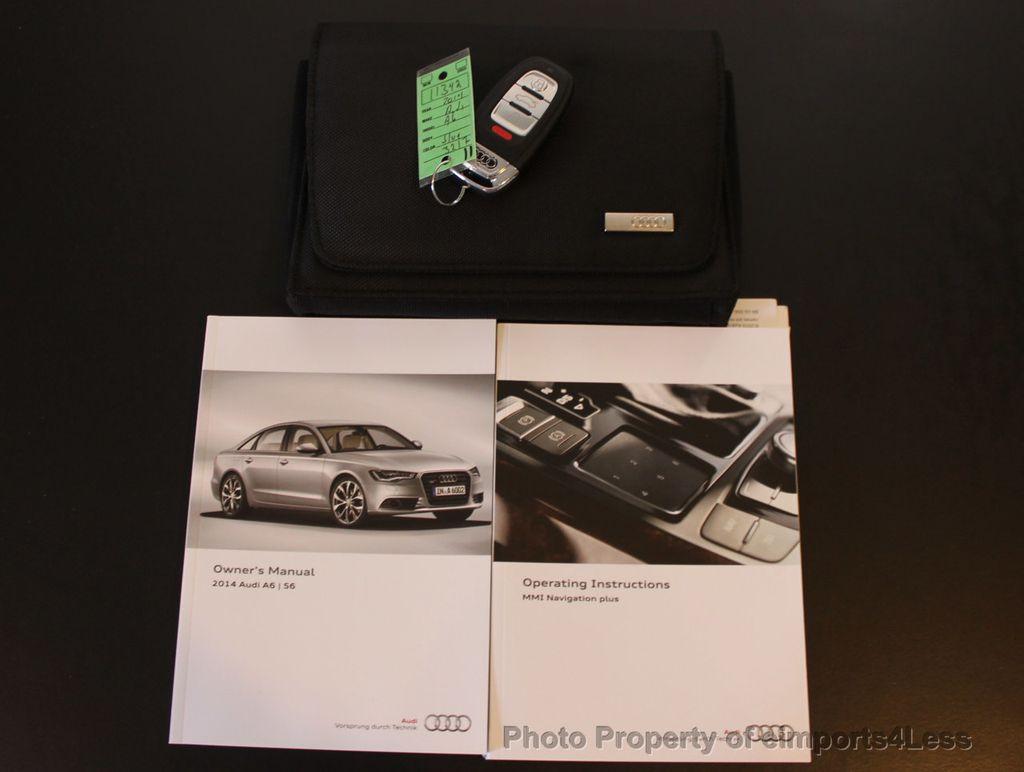 2014 Audi A6 CERTIFIED A6 2.0t Quattro Premium Plus AWD BOSE / NAVI -  16043981