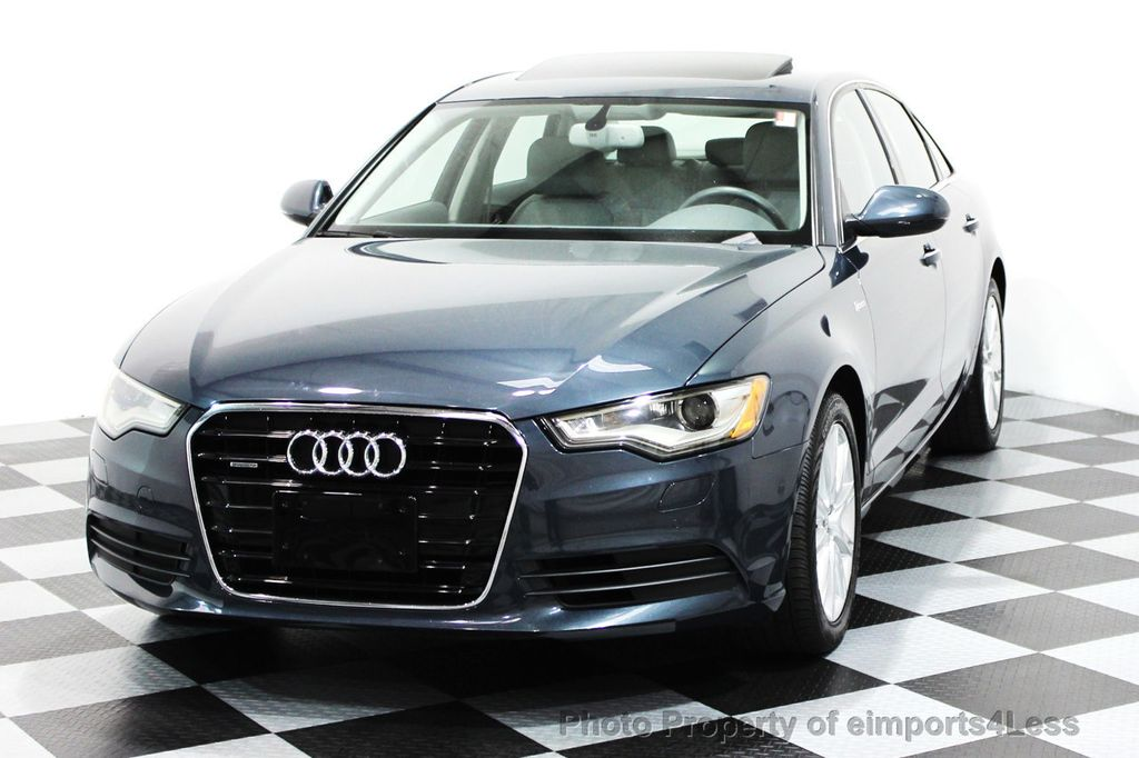 2014 Audi A6 CERTIFIED A6 3.0t Quattro Premium Plus AWD Sedan  - 16043985 - 14