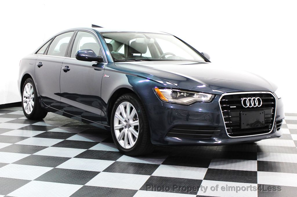 2014 Audi A6 CERTIFIED A6 3.0t Quattro Premium Plus AWD Sedan  - 16043985 - 1