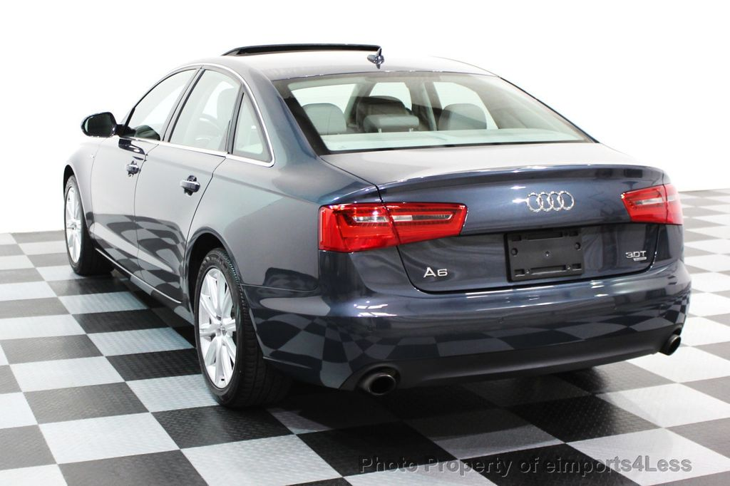 2014 Audi A6 CERTIFIED A6 3.0t Quattro Premium Plus AWD Sedan  - 16043985 - 19
