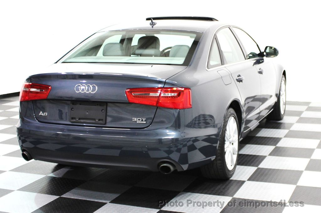 2014 Audi A6 CERTIFIED A6 3.0t Quattro Premium Plus AWD Sedan  - 16043985 - 21