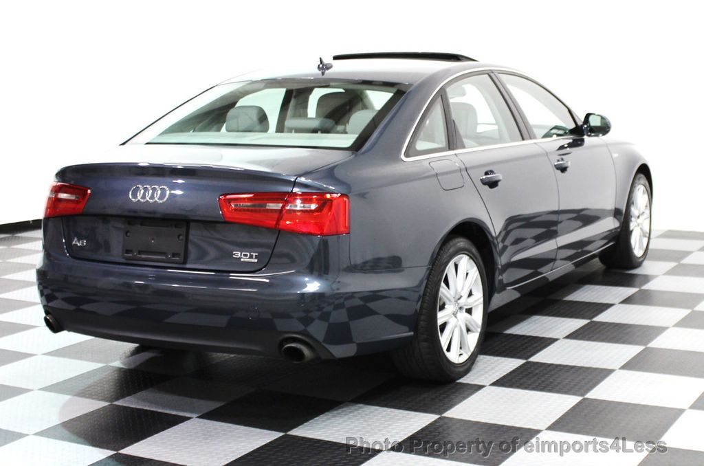2014 Audi A6 CERTIFIED A6 3.0t Quattro Premium Plus AWD Sedan  - 16043985 - 22
