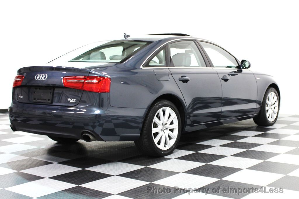2014 Audi A6 CERTIFIED A6 3.0t Quattro Premium Plus AWD Sedan  - 16043985 - 23